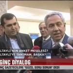 Video – Bülent ARINÇ'ın gazetecilerin sorularına verdiği müthiş cevaplar…