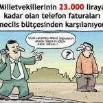 Karikatür – Kapat, sana yazmasın ben ararım vatandaş ödesin
