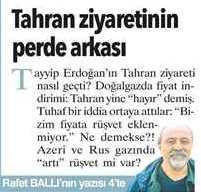 Türkiye yönetimi azeri ve rus gazını alırken rüşvet mi veriyor