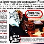 Burası Türkiye, gazeteler anasayfalarında boy boy yalan haber yayınlayabilir