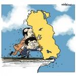Karikatür – Ülkemizi uçurumdan aşağıya atanları tanıyan var mı?