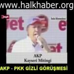Video – Başbakan, PKK ile görüşme yapmadıklarını, yapanın şerefsiz olduğunu açıklıyor