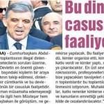 Türkiye cumhurbaşkanı devletin terör örgütü gibi yönetildiğini inkar etmedi