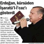 RTE, Bitlis'te Diyanet'in bastığı İşaratü'l-İ'caz'ı gösterdi