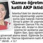 İşsiz kalan 35 yaşındaki öğretmen Gamze Filiz Aslan intihar etti