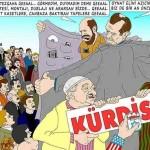 Karikatür – Suni gündemin amacı Kürdistan'ı kurup BOP'ni hayata geçirmektir