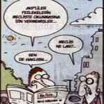 Karikatür – Meclis ne lan?..
