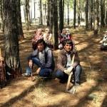 Köy halkı ormanın kesilmemesi için baltalarla gece gündüz nöbet tutuyor