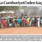 Orta Afrika Cumhuriyeti'nden kaçış sürüyor