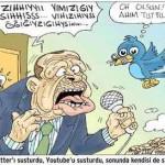Karikatür – Mağrur olma padişahım senden büyük Allah var