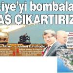 Türkiye yetkilileri kendi kendilerine bomba atıp Suriye'yi suçlayacaklarını açıkladı