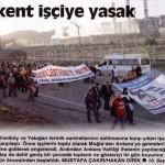 İşçiler Ankara'ya yürüyor, Ankara'da OHAL ilan edildi