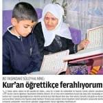 80 yaşındaki Süleyha Nine: Kur'an öğrettikçe ferahlıyorum