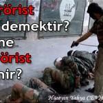 Terörist ne demektir? Kime terörist denir? – Hüseyin Yahya CEVHER