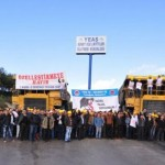 İşçiler Yatağan termik santralini işgal etti