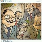 Karikatür – Kendileri çaldılar, kendilerini akladılar