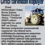 Türkiye'de çiftçi tarımdan kopuyor
