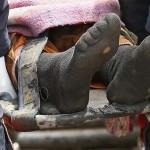 Delik çorabıyla ekmek parası kazanırken katledilen madenci…