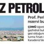 Karadeniz petrol kaynıyor