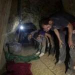 Madenciler yerin altında namaz kılarken…