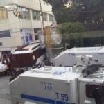 SOMA için yapılan eyleme karşı TOMAlar hazır bekliyor