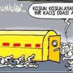 Karikatür – Soma katliamının sorumluları halktan KAÇIŞ ODASI'nda…
