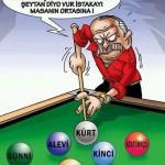 Karikatür – Fitneler artıyor, halkımız birbirine girmiyor
