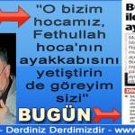 Mustafa İslamoğlu dün hocamız dediği Fethullah GÜLEN'i bugün terörist yaptı