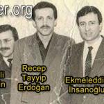 Recep Tayyip Erdoğan ve Ekmeleddin İhsanoğlu'nun dostluğu çok eskilere dayanıyor