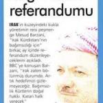 Türkiye ve İsrail gazı verdi, Çapulcu Barzani bağımsızlık dedi