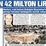 Erdoğan Bayraktar 42 milyon liralık arsayı nasıl aldı?