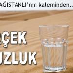 GERÇEK SUSUZLUK – Süleyman DAĞISTANLI