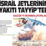 Gazze'yi bombalayan jetlerin yakıtını Türkiye gönderiyor