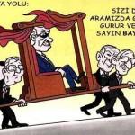 Karikatür – Tüm siyasi figürler Tayyip'e çalışıyor