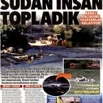 Baraj katliamında bir çok kişiyi su sürükleyip götürdü