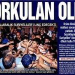 Gaziantep halkı Suriyelileri linç etmek istedi