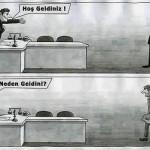 Karikatür – Kodaman'a ayrı halkımıza ayrı muamele…