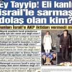 Eli kanlı İsrail'le sarmaş dolaş olan kim?