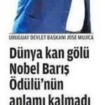 Uruguay devlet başkanı: Nobel Barış Ödülü'nün anlamı kalmadı