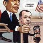 Karikatür – ABD, Türkiye, IŞİD el ele…