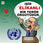 Karikatür – IŞİD elikanlı bir terör örgütüdür