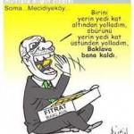 Karikatür – Katliam yerin altında da üstünde de devam ediyor