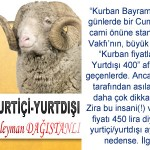 YURTİÇİ-YURTDIŞI – Süleyman DAĞISTANLI