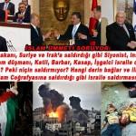Erdoğan neden Irak ve Suriye'ye saldırdığı gibi korsan İsrail'e saldırmıyor?