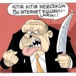 Karikatür – Kıtır kıtır keseceksin bu internet kullanıcılarını…
