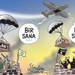 Karikatür – Tüm terör örgütlerini aynı merkez silahlandırıyor