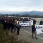 Ankara'ya yürüyen Somalı madenci: Bu bir öfke patlaması, oyalanmaktan yorulduk