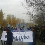 YÖK'ü protesto eden öğrencilere polis saldırdı