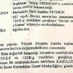 Erdoğan'a yumurta atan 17 yıllık öğretmen meslekten ihraç edildi!
