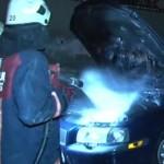 Beyoğlu'nda park halindeki 5 araç kundaklandı